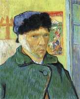 Van Gogh - Self-Portrait with Bandaged Ear (2) - 1889