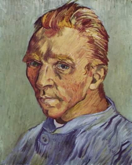 Van Gogh - Self-Portrait Without Beard - 1889