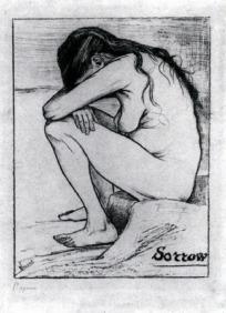 Van Gogh - Sorrow - 1882