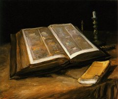 Van Gogh - Still Life with Bible - 1885