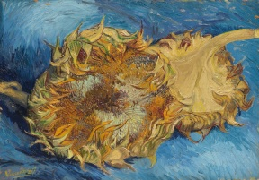 Van Gogh - Still Life with Two Sunflowers - 1887