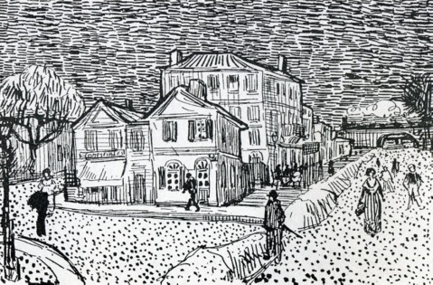 Van Gogh - The Artist's House in Arles - 1888