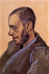 Van Gogh - The Bookseller Blok - 1882