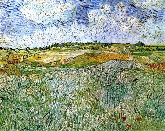 Van Gogh - The Plain at Auvers - 1890