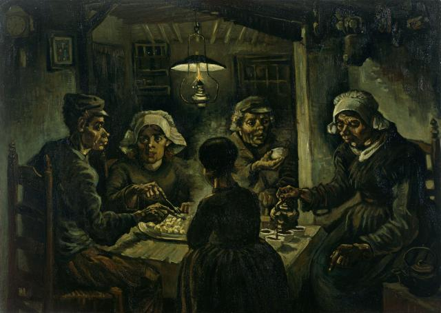 Van Gogh - The Potato Eaters - 1885