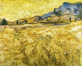 Van Gogh - The Reaper - 1889