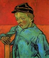 Van Gogh - The Schoolboy (Camille Roulin) - 1888