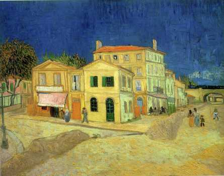 Van Gogh - The Yellow House - 1888