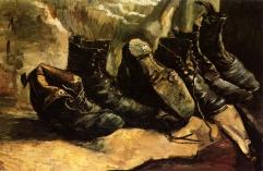 Van Gogh - Three Pairs of Shoes - 1886