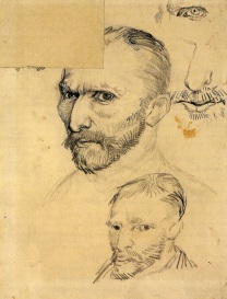 Van Gogh - Two Self-Portraits & Details - 1886