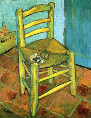 Van Gogh - Van Gogh's Chair - 1889