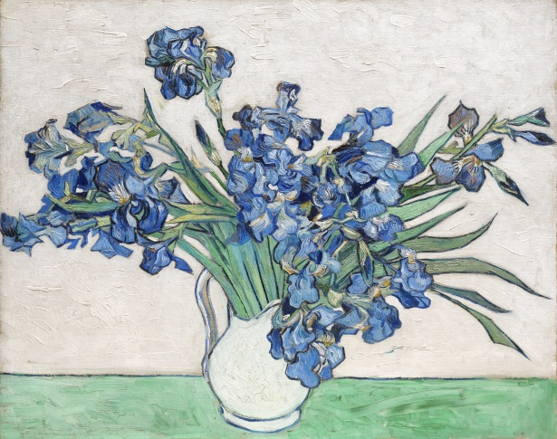 Van Gogh - Vase with Irises - 1890