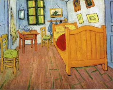 Van Gogh - Vincent's Bedroom in Arles - 1888