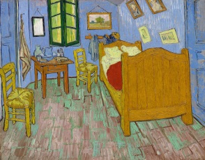Van Gogh - Vincent's Bedroom in Arles - 1889