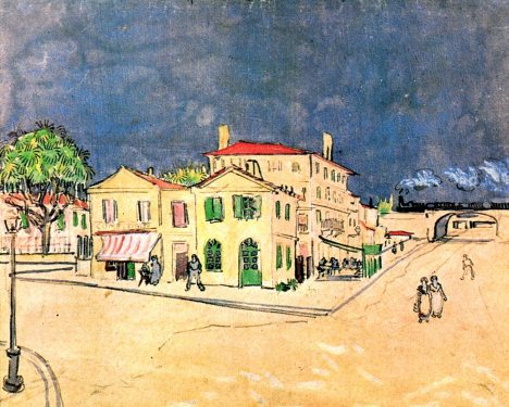 Van Gogh - Vincent's House in Arles (The Yellow House) - 1888