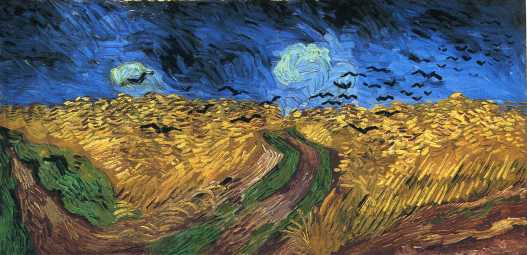 Van Gogh - Wheat Field with Crows - 1890
