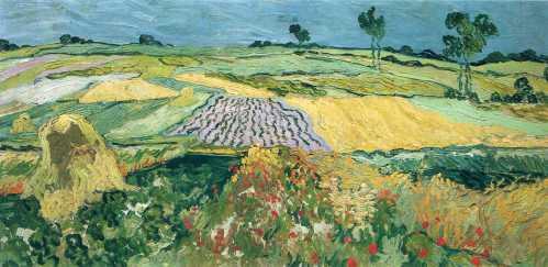 Van Gogh - Wheatfields - 1890