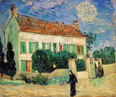 Van Gogh - White House at Night - 1890