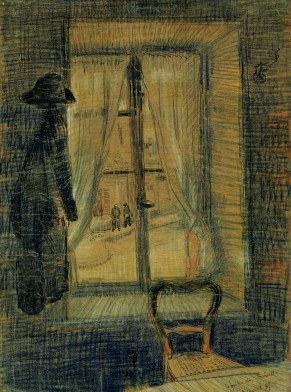 Van Gogh - Window in the Bataille Restaurant - 1887