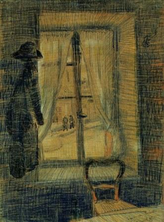 Van Gogh - Window in the Bataille Restaurant - 1887