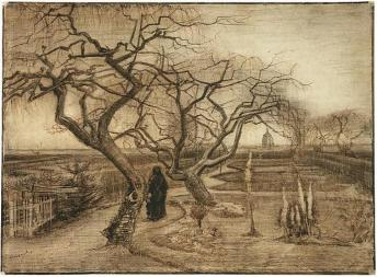 Van Gogh - Winter Garden - 1884