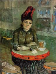 Van Gogh - Woman in the Cafe Tambourin - 1887