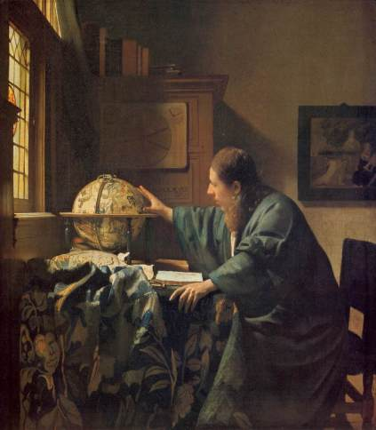 Vermeer - The Astronomer - 1668