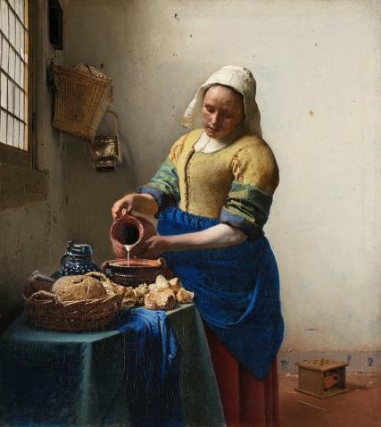 Vermeer - The Milkmaid - 1660