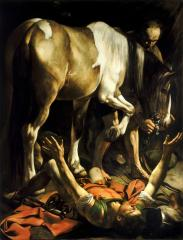 Caravaggio - Conversion of St. Paul - 1601