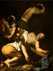 Caravaggio - Crucifixion of St. Peter - 1601