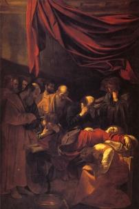 Caravaggio - Death of the Virgin - 1605