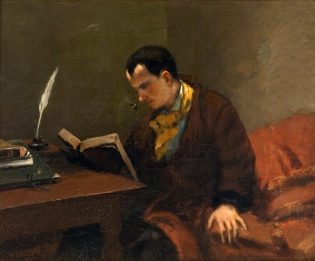 Courbet - Charles Baudelaire - 1849
