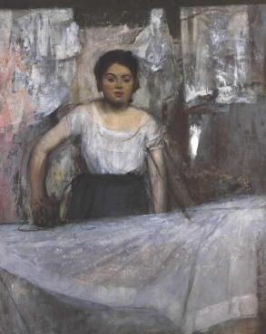 Degas - Woman Ironing - 1869