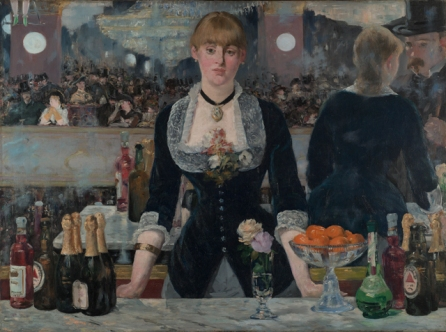 Manet - A Bar at the Folies-Bergère