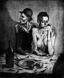 Picasso - A Simple Meal - 1904