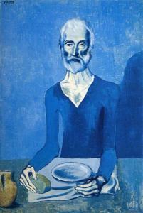 Picasso - Ascet - 1903