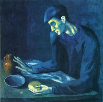 Picasso - Blind Man's Meal - 1903