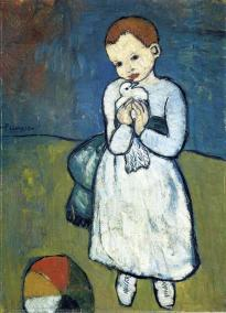 Picasso - Child with Dove - 1901
