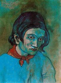 Picasso - Female Head - 1902