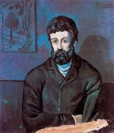 Picasso - Man in Blue - 1902