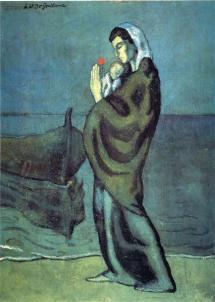 Picasso - Mother & Child on the Beach - 1902