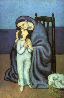 Picasso - Motherhood - 1901