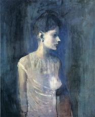 Picasso - Portrait of Seniora Soler (Girl in a Chemise) - 1903