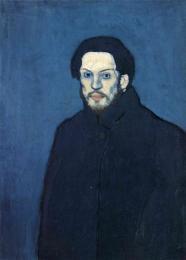 Picasso - Self-Portrait - 1901