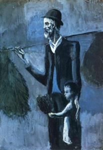 Picasso - Seller of Gul - 1902