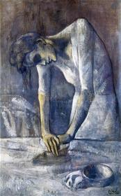 Picasso - The Ironer - 1904