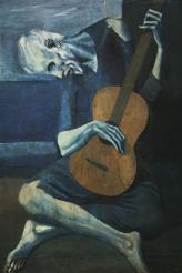 Picasso - The Old Blind Guitarist - 1903