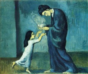 Picasso - The Soup - 1903