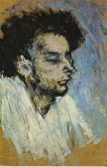 Picasso - The Suicide (Casagemas) - 1901