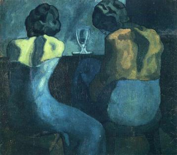 Picasso - Two Women Sitting at a Bar - 1902